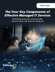 the four effective componants of managed it services